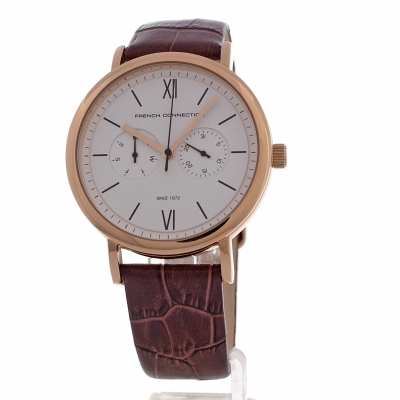 mens french connection watch fc1223ta