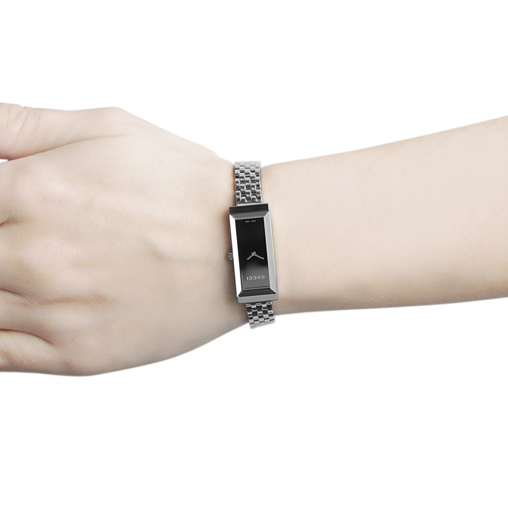 Ladies Gucci G-Frame Diamond Watch YA127504